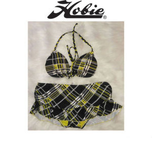 Hobie  2 Piece Skort Swimsuit Large